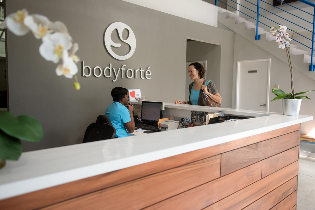 Front Desk at Body Forte